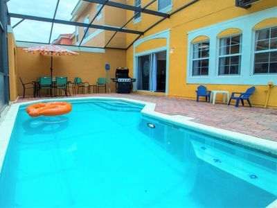 Photo for Near Disney World - Terra Verde Resort - Amazing Relaxing 4 Beds 3 Baths Townhome - 6 Miles To Disney