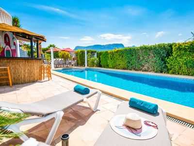 Photo for Villa Limones - Has an enclosed garden, private pool & WI-FI plus a BBQ