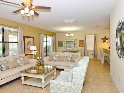 Photo for Home near Disney w/ Clubhouse Water Park, Gym, Business Center & Golf Course
