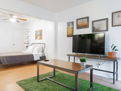 Photo for New Listing! Thrifty + functional 1BD Apt near AUS and downtown