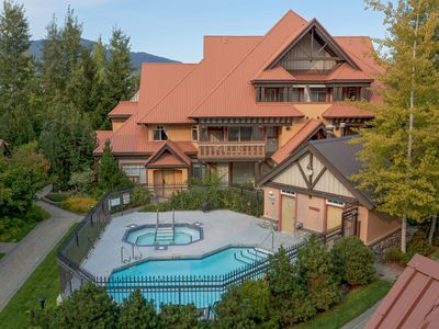 Relax in a Luxury 3 bed, 2 bath retreat located in the heart of Whistler village