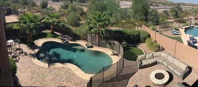 Photo for Stunning Estrella Mountain Ranch Home! 5 Bed 3 Bath Gorgeous Desert View w/ Pool