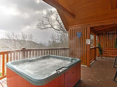 Photo for Sevierville Cabin w/Smoky Mtn Views-20% off in May