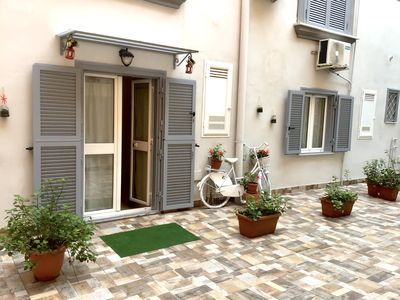 Photo for AL CORTILE COZY HOUSE - your home, in the historic center of NAPLES