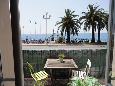 Photo for Stunning Apartment, Spectacular Sea Views, 150m from beach