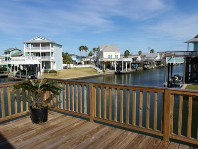 Photo for Sea Isle Splendor: Sea Isle canal home with view & tiki bar! FREE attractions!