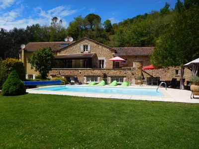 Photo for Country Home in Beautiful Private Grounds with Pond, Woods, Leat and Swimming Pool