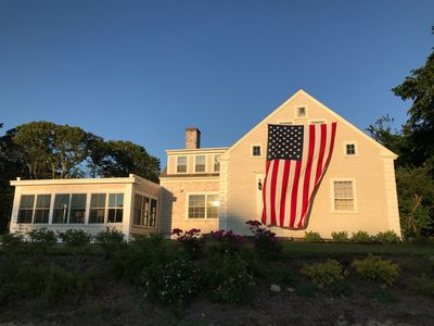 Photo for Historic Riverfront Home on Herring River, 1/2 mile from Nantucket Sound