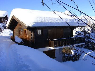 Photo for Delightful detached chalet close to ski lift and centre of Haute Nendaz village.