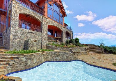 Remarkable Journeys End 5 Bedrooms Sleeps 12 Private Outdoor Pool Theater Sauna Pigeon Forge Interior Design Ideas Clesiryabchikinfo