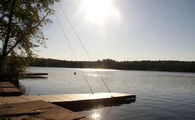 Photo for Rustic Lake Front Cabin Getaway on Mohican Lake