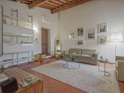 Photo for Terme Terrace apartment in Duomo with WiFi, air conditioning, private roof terrace & lift.