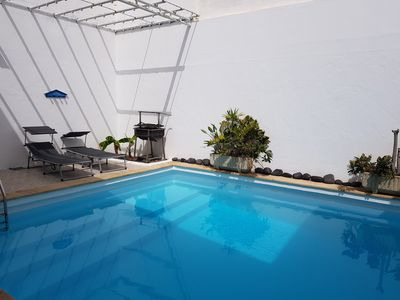 Photo for Nice house, private pool, WIFI, near to the beach.