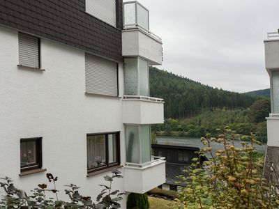 Photo for Well-kept apartment in a quiet residential area with beautiful views
