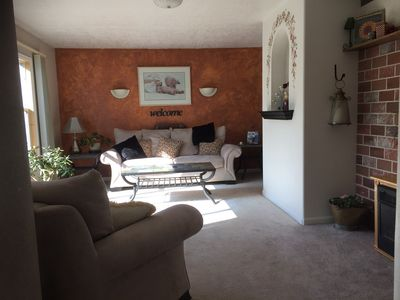 Photo for Ranch style 3 bedroom cozy home with amazing views!!