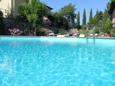 Photo for Location in a historic villa of the '600, pool on the hill of Monte Carlo Lucca