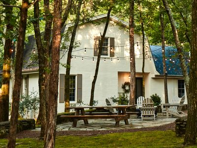 Photo for Beautiful Forrest Cabin Get-Away in the Heart of Historic Franklin! 3 Bedrooms!