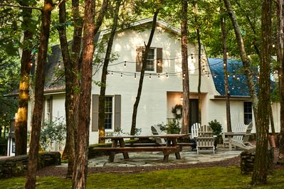 Cabin Creek Farm is a Beautiful Home Nestled in the Woods