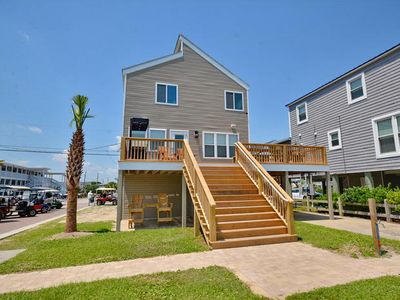 Photo for Living Beach 4, Pet Friendly, Oceanfront House in Cherry Grove with Hot Tub