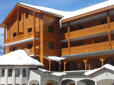 Photo for One bedroom Apartment, sleeps 4 in Valberg with Air Con and WiFi