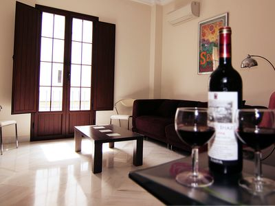 Photo for L2. 1 Bedroom Apartment with Balcony / WIFI / Air Conditioning / Kitchen in Historic Center