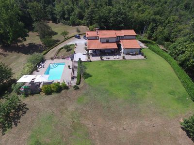 Photo for Secluded Villa With Spectacular Views, 8 Hectares, Pool & Local Cities Access
