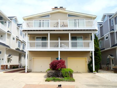 Photo for Great 66th St location, just 1.5 blocks to beach. off street parking, outside shower, 4 new decks, central air,