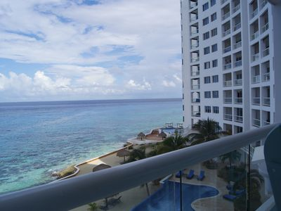 Photo for Peninsula Grand - Oceanfront Luxury Condo; views from every room