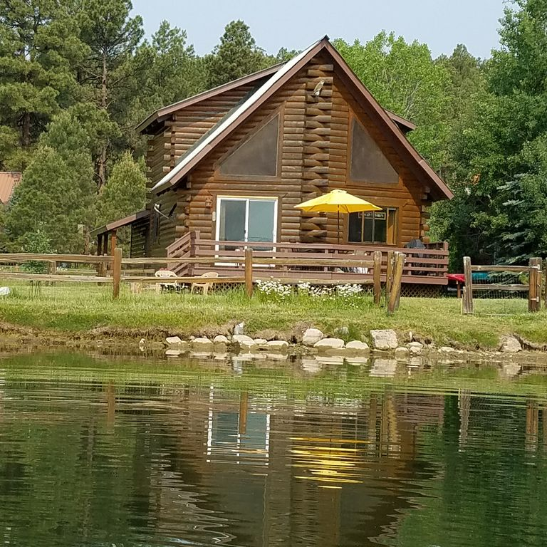 Pagosa Springs Cabin Rental   View From Lake