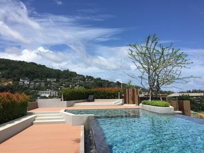 Photo for 6Av 706 - Surin beach condo with rooftop pool and gym