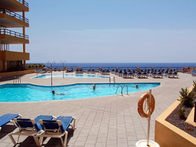 Photo for A lovely one bed apartment in Aguamarina, Golf Del Sur with views out to the sea
