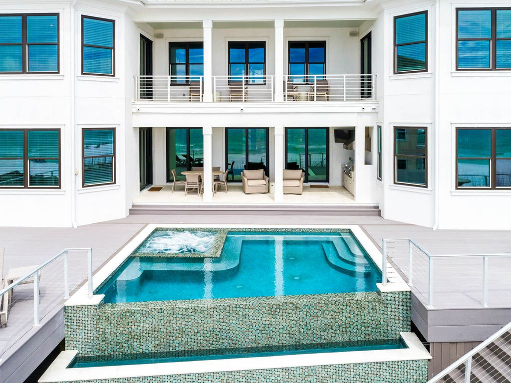 New Gulf Front With Private Heated Pool 5 Master Bedrooms Miramar Beach Florida Panhandle