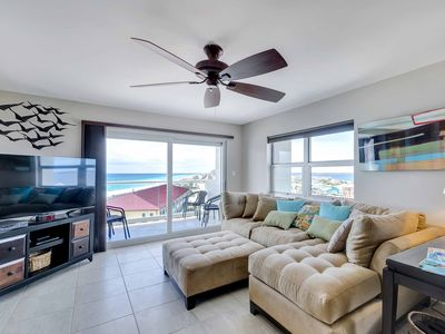 Photo for Magnificent Gulf and Bay View ~Community Pool and Private Balcony!