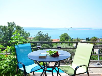 Photo for Holiday apartment Crikvenica for 1 - 3 persons - Holiday apartment