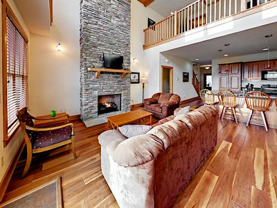 Living Room - Welcome to Mars Hill! Your luxury townhome is professionally managed by TurnKey Vacation Rentals.