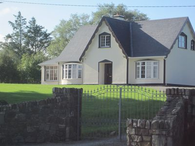 Photo for 4star,failte ireland.selfcatering.games room ,4 bedrooms,4 bathrooms,sleeps 8.