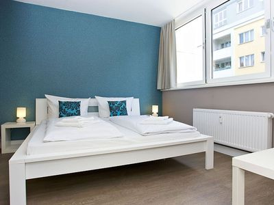 Photo for Gran Cosy B 4.1 apartment in Kreuzberg with WiFi, shared terrace & lift.