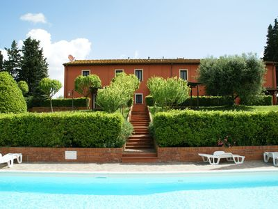 Photo for Spacious apartment furnished in Italian style in the hills