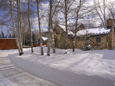 Photo for Aspen 5 bedroom ski home on bus route and minutes to downtown Aspen & ski area