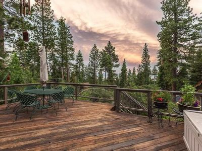 Photo for Beautiful Spacious Tahoe Vista Retreat with Hot Tub