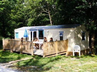 Photo for Camping Saint Pierre de Rousieux *** - Mobile Home 3 Rooms 4/5 People