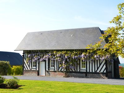 Photo for Typical Norman restaured house with panoramic views and big garden