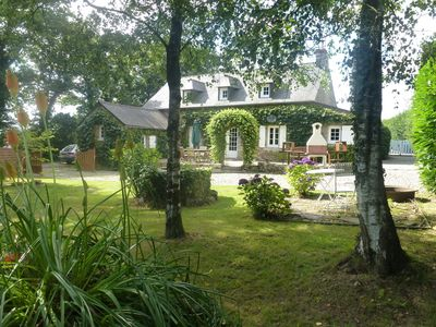 Photo for Poul Bizic - Charming Longére In The Heart Of Brittany - Hot Tub, Sleeps 6 + cot