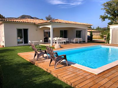Photo for RECENT VILLA - 4 BEDROOMS - AIR CONDITIONING - HEATED POOL