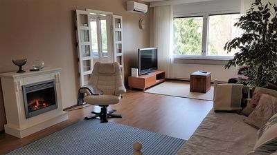 Photo for Cozy apartment with air-conditioning and balcony