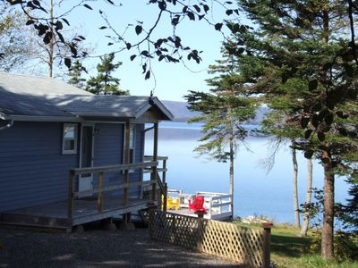 Photo for Waterfront cottage direct on beautiful Bras d'Or Lake