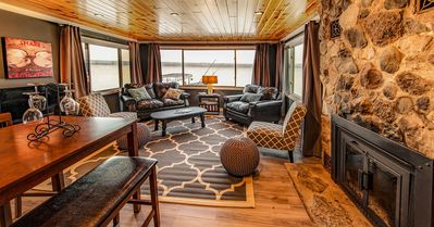 Photo for Beautifully Renovated Waterfront Cottage with Private Boat Dock.