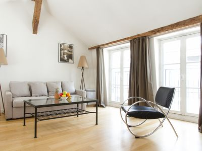 Photo for BRIGHT APARTMENT IN THE HEART OF SAINT GERMAIN DES PRES