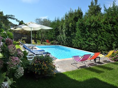 Photo for The wisteria - Apartment in villa with pool free wifi