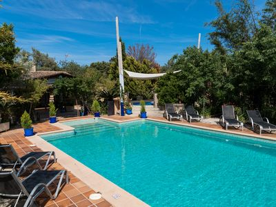 Photo for Sa Caseta - Country house with pool, tennis, jacuzzi and views of the Tramuntana